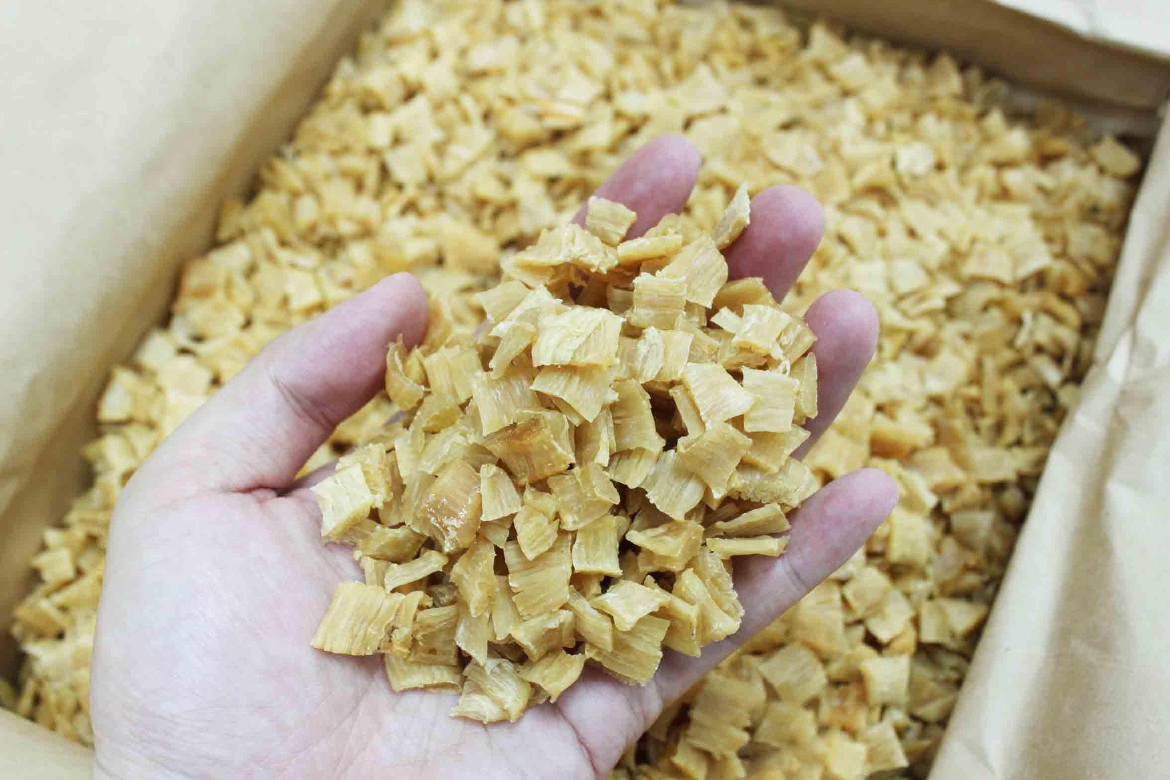 Soup Congee Ingredients Fresh Natural Japanese Sun Dried Broken Side Scallops Yuenbei 元貝碎邊 Free International Airmail