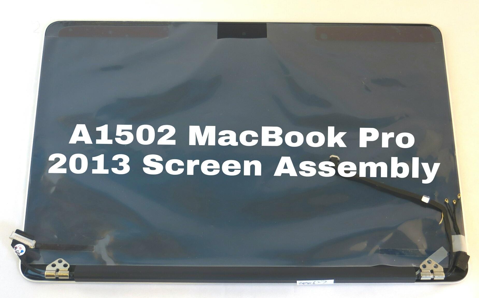Apple MacBook Pro 13'' Retina A1502 Late 2013 Mid 2014 Full LCD Display Screen Assembly Repair Part 661-8153