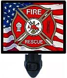 Firefighter Night Light - Fire Rescue - LED NIGHT LIGHT