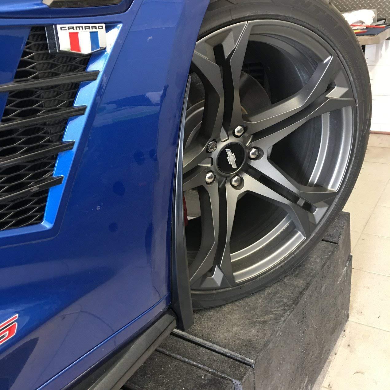 Textured Black, Front /& Rear ACS Composite Camaro Rock Chip Guards for Gen6 Camaro 2016 2017 2018 2019 Durable ABS-PC