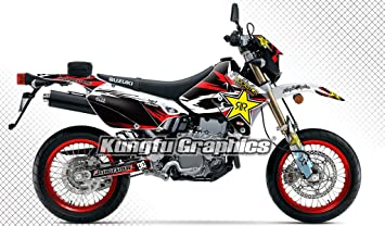 2018 suzuki 400 sm. unique 400 kungfu graphics rockstar custom decal kit for suzuki drz400 sm 1999 up to  2018 red and 2018 suzuki 400 sm