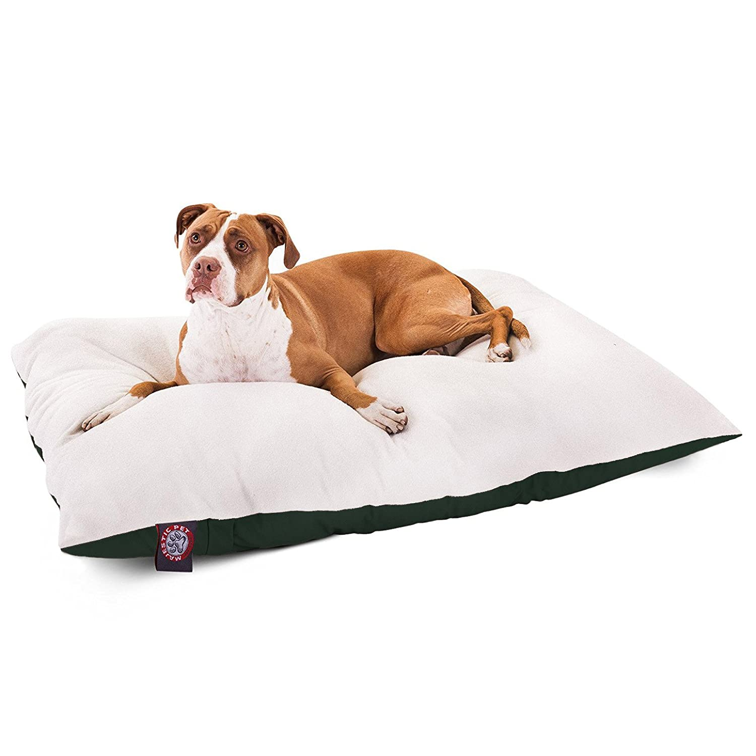 36x48 Green Rectangle Pet Dog Bed by Majestic Pet Products Large