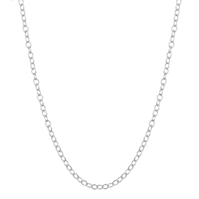 oxidized mens rolo men chain lynn necklace silver sterling mixed curb cable oval s