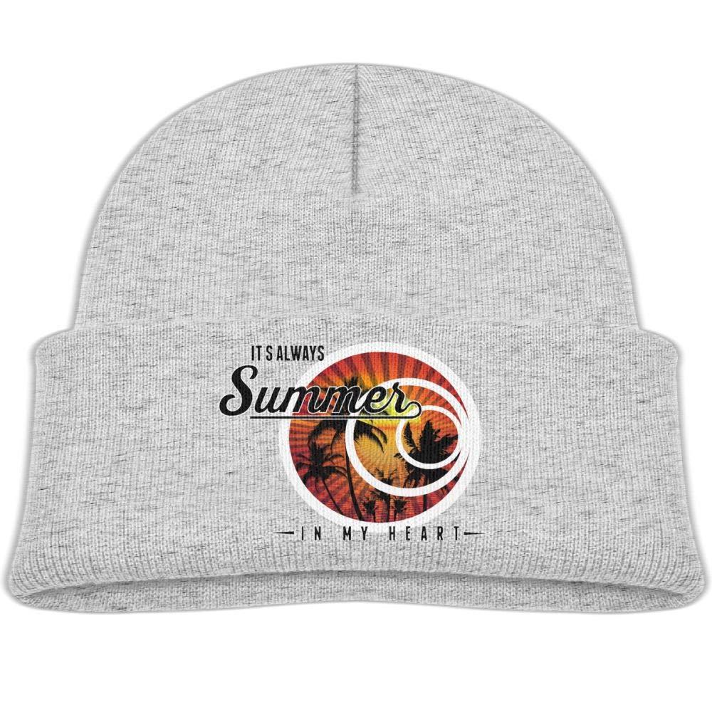 Its Always Summer in My Heart Infant Knit Hat Unisex Beanie Cap