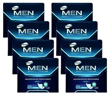 828af175fc179 Tena Men Level 1 Inkontinenzeinlagen für Männer mit leichter Blasenschwäche  / Inkontinenz an männliche Anatomie angepasste