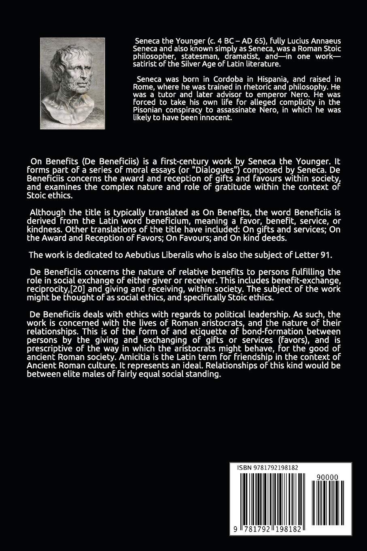 On Benefits (Annotated): Lucius Annaeus Seneca, Aubrey