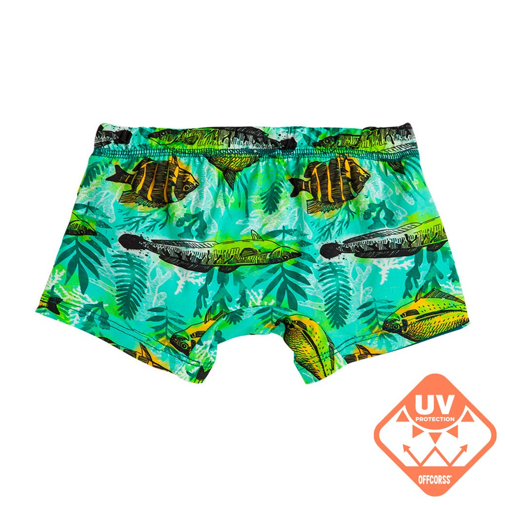 bd41af3a22 OFFCORSS Toddler Boy Swim Short Trunks UV Protection | Traje de Baño Para  Niños: Amazon.in: Clothing & Accessories