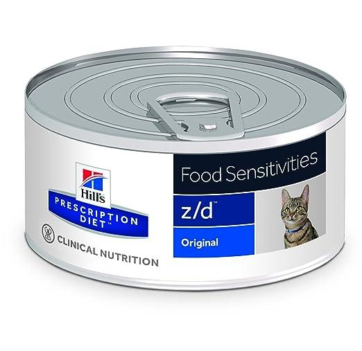 Hills Feline Z/D Ultra Can Comida para Gatos - 156 gr x 24 unidades: Amazon.es: Productos para mascotas