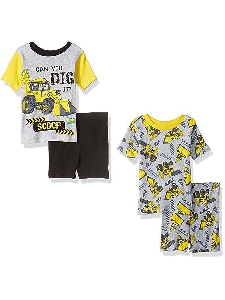 Amazon.com: De Bob el constructor Boys 4 piezas Pijamas Set ...