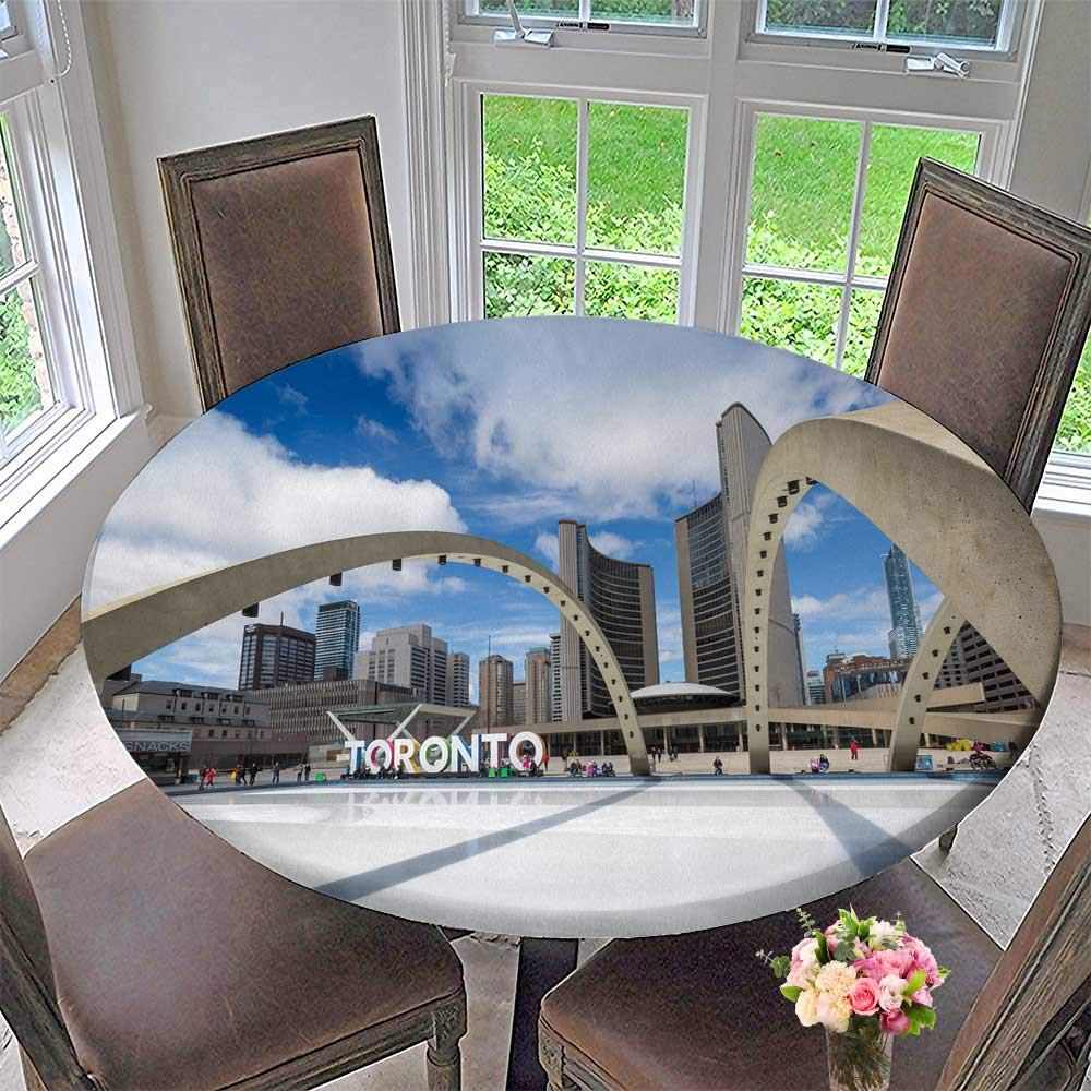 Pleasing Amazon Com Luxury Round Table Cloth For Home Use Toronto Home Remodeling Inspirations Cosmcuboardxyz