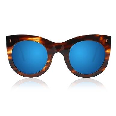 8fbbe2ab41e Amazon.com  ILLESTEVA Boca Designer Women Sunglasses (Dark Sand ...