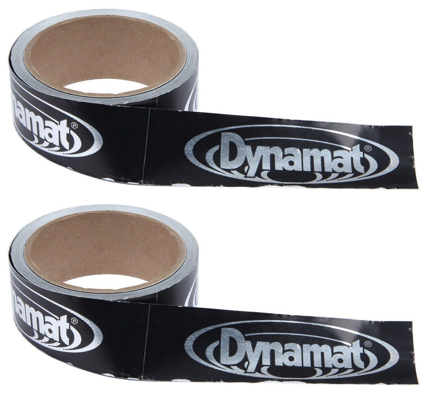 Dynamat 13100 1-1/2'' Wide and 30' Long DynaTape Sound Deadener (2-Pack)