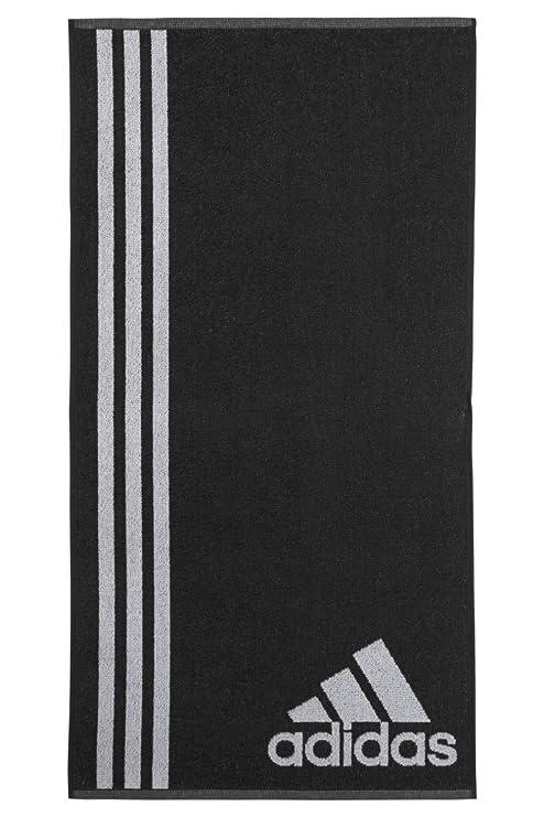 adidas Performance Sports Training Gym Towel - Black White - 98cm X 50cm - Small
