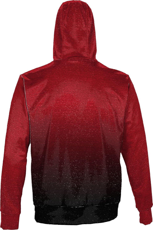 ProSphere University of Louisiana at Lafayette Mens Pullover Hoodie Ombre School Spirit Sweatshirt