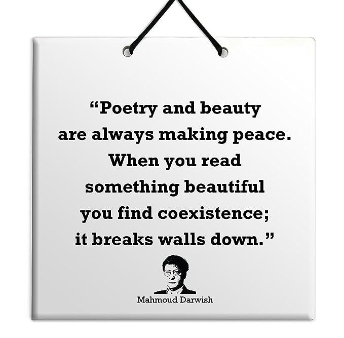 Amazon com: Body-Soul-n-Spirit Quotes Mahmoud Darwish