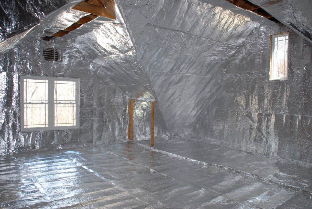 500 sqft of 1/4 inch Solid NASA Tech Heavy Duty Platinum Reflective Foam Core Reflective Insulation Barrier Attic Foil
