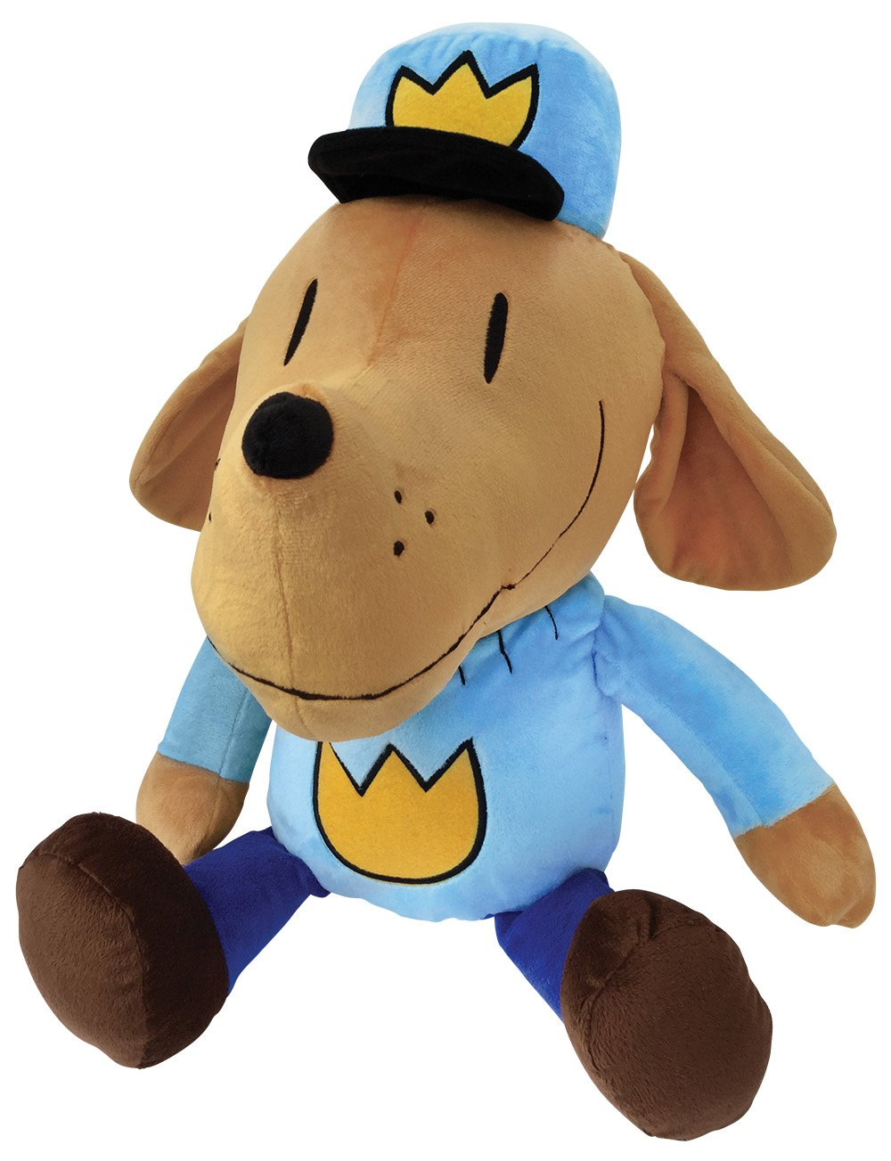 MerryMakers Dog Man Plush Toy, 9.5-Inch Dav Pilkey 1810 Toys Dolls & Puppets