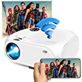 Wireless WiFi Movie Projector 4200Lux, Ifmeyasi 2020 Upgraded Mini Video Projectors, USB Directly Connect with Smartphones, 1