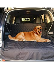 Dog Car Seat Cover 【Upgraded】 Non-Slip Cargo Liner Material & Waterproof Pet Back Seat Protectors for SUVs, Trucks and Cars by moveland