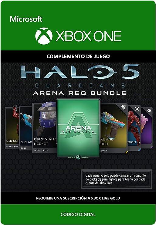 Halo 5 Guardians: Arena REQ Bundle | Xbox One - Código de descarga ...