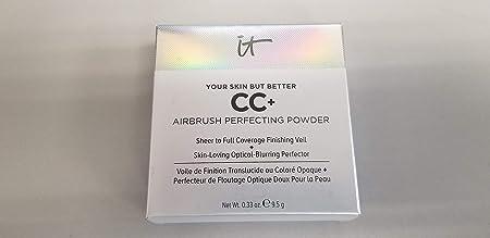 it Cosmetics CC Airbrush Perfecting Powder Medium Tan