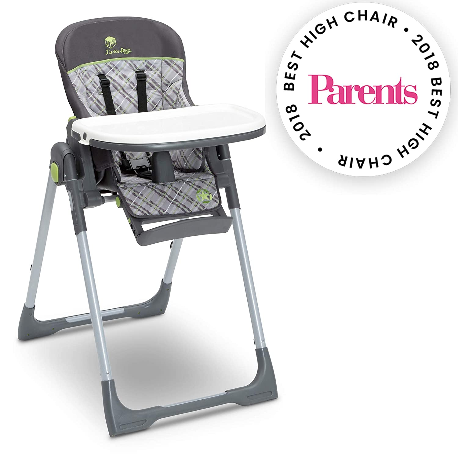 Jeep Classic Convertible High Chair for Babies and Toddlers, Fairway