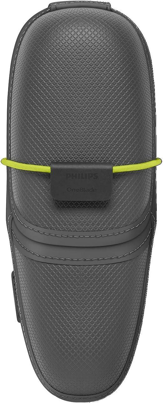 Philips QP100/51 OneBlade Premium Hard Case, Black/Lime Green ...