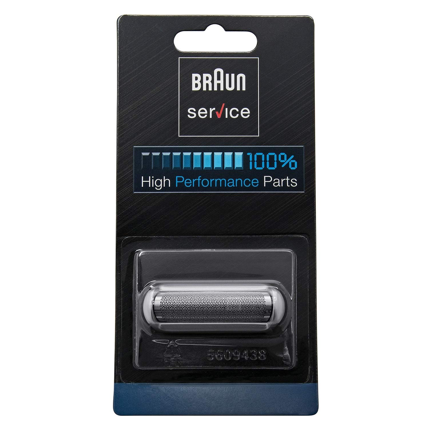 Braun Shaver Replacement Foil Pocket Shaver, CruZer Twist, PocketGo, MobileShave, silver with approx. 6cm Braun cleaning brush and Braun oil 7ml (5S): ...
