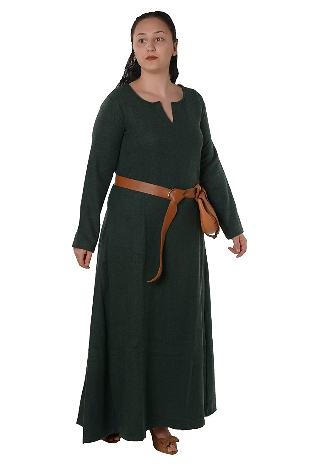 Medieval Peasant Womanu0027s Green Wool Dress Costume - DeluxeAdultCostumes.com  sc 1 st  Deluxe Theatrical Quality Adult Costumes & Renaissance Serving Wench Peasant Women Costume Dresses | Deluxe ...