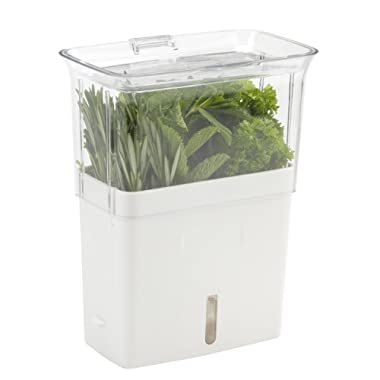 COLE & MASON Fresh Herb Keeper, Container, Clear