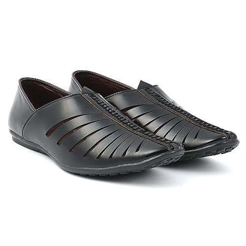 18539895ded GB Men s Premium Black Loafers