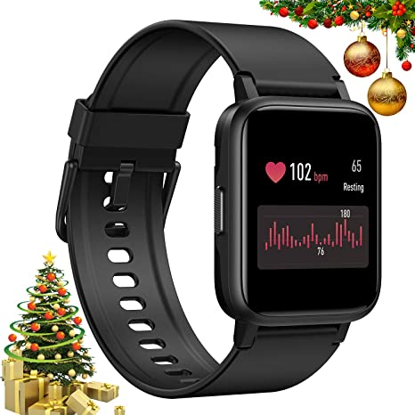 GRM Smart Watch Fitness Tracker with Heart Rate Monitor ...