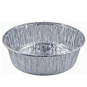 Amazon Com 10 Pack Of 9 Inch Round Foil Pans Extra Deep Disposable Aluminum Foil Cake Trays Freezer Oven Safe For Baking Co Ng