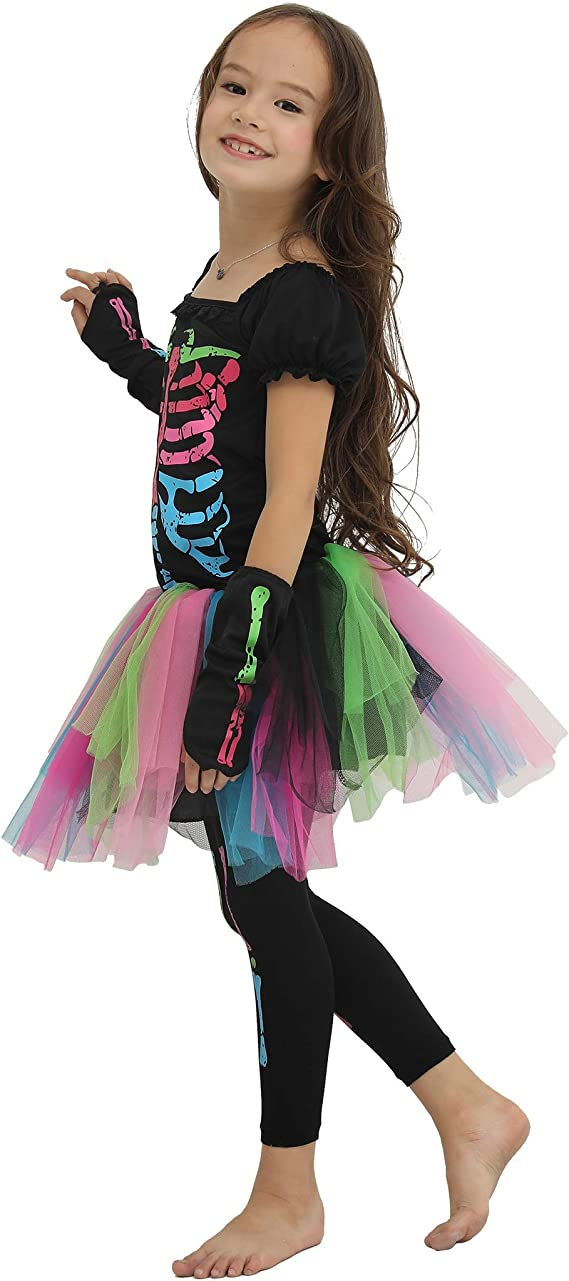 Amazon.com: EraSpooky - Disfraz de esqueleto para Halloween ...