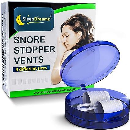 Dilatadores Nasales Antironquidos SleepDreamz – ¡Dejar De Roncar! – Diseñados Científicamente para Detener los