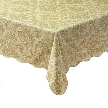 Ennas Cz016 Waterproof Modern Vinyl Tablecloth Oblong(rectangle) (47 Inch  By 60