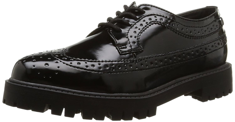 ElleAgency - Zapatos Derby Mujer 36 EU|Negro - Negro
