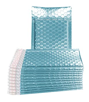 Amazon.com: Paquete de 25 sobres de burbujas ABC, color azul ...