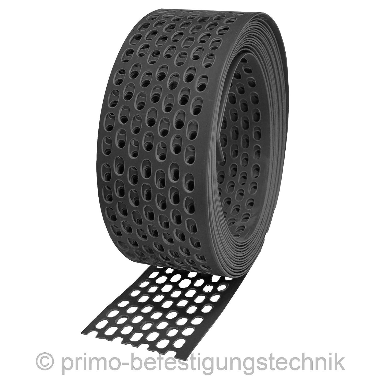 1 rotolo da 5 m lineari di griglia parapasseri di gronda, 51480w Primo-Befestigungstechnik GmbH
