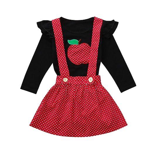 349ce652110d Amazon.com  Baby Toddler Girls Princess Dress Fall Winter Clothes 1 ...