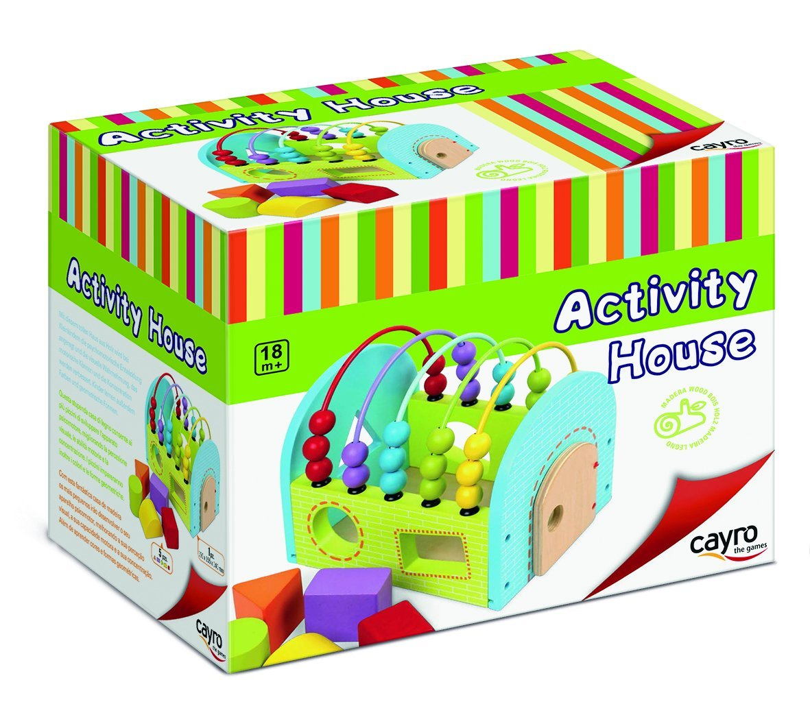 Juego Activity House CAYRO 8104