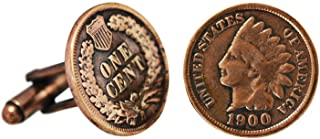 product image for American Coin Treasures Copper Indian Head Penny Cuff Links