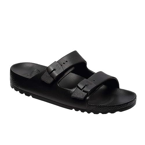 8c96d308b9e613 Scholl Bahia Ladies Buckle Sandals Black 39: Amazon.co.uk: Shoes & Bags
