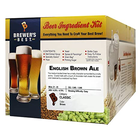 English Brown Ale Homebrew Beer Ingredient Kit