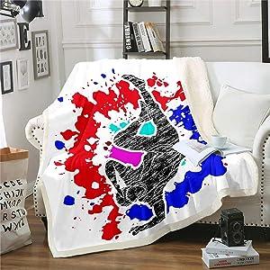 Tie Dye Throw Blanket 87