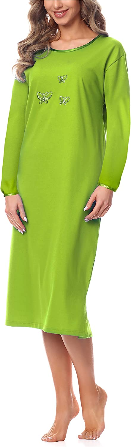 Merry Style Womens Long Sleeve Nightdress 91LW1