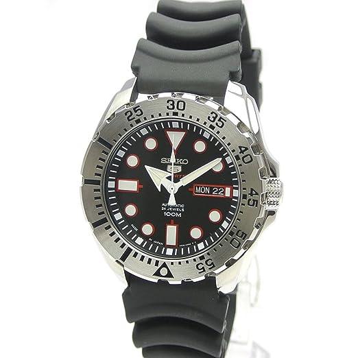 Seiko 5 Reloj para Hombre automático srp601j1 Fabricado en Japón Reimportation: Amazon.es: Relojes