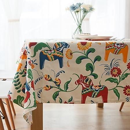 Comfy Home 100% algodón funda para mesa mantel de estilo Boho ...