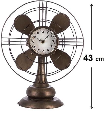Péndulo reloj original de escritorio - Cabeza Hélice - Estilo Vintage - Colo MARRON