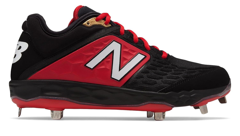 New Balance Men's 3000v4 Baseball Shoe B075R6ZQQV 13 2E US|Black/Red